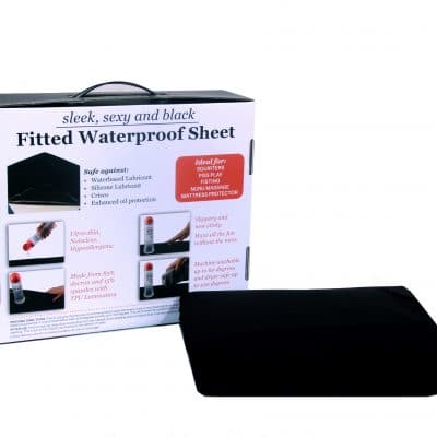 Super King Waterproof Fitted Sheet