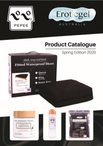 Eroticgel Catalogue Front Cover