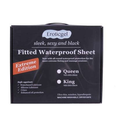 King Waterproof Fitted Sheet – Extreme Edition
