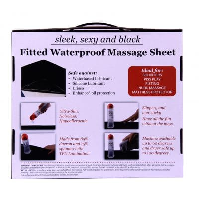 Queen Waterproof Fitted Sheet